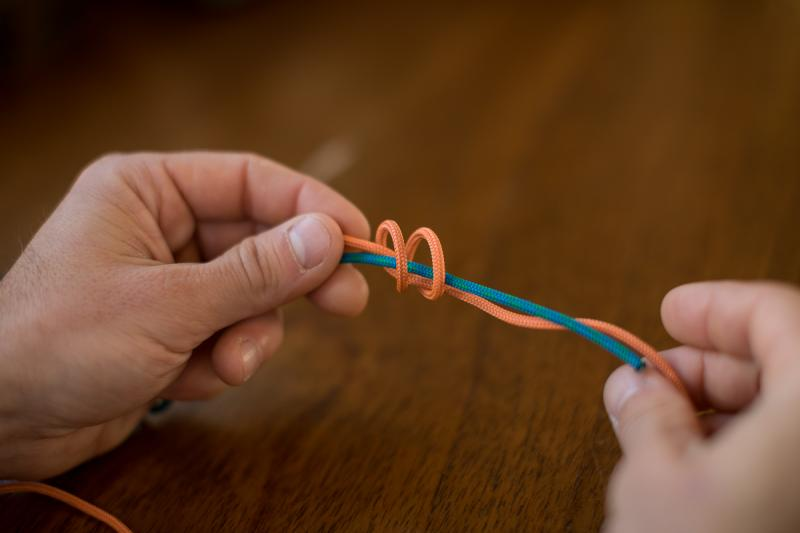 Double fisherman's loop knot