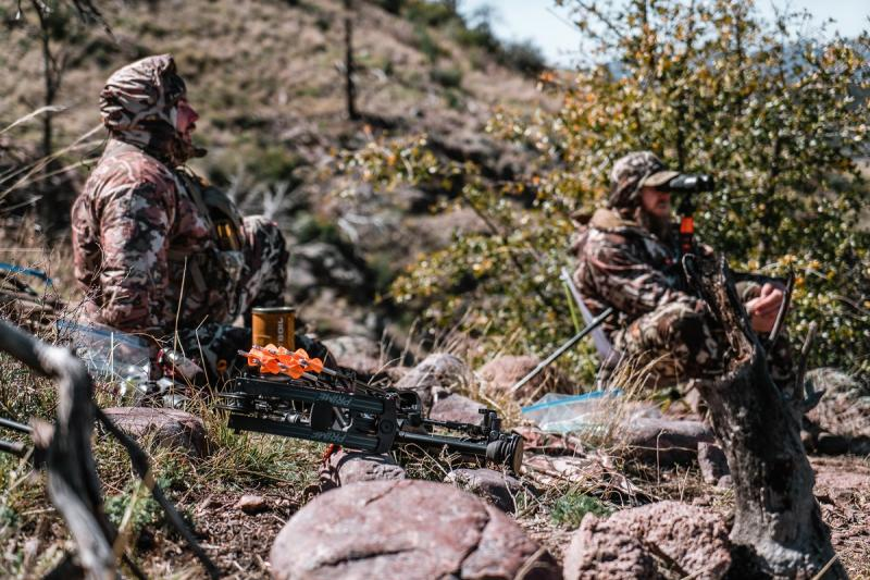 Bowhunting for coues deer
